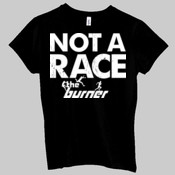 Not A Race... - Ladies' Jersey Short-Sleeve T-Shirt