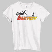 The Burner Logo - Ladies' Jersey Short-Sleeve T-Shirt