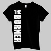 The Burner stacked - Ladies' Jersey Short-Sleeve T-Shirt
